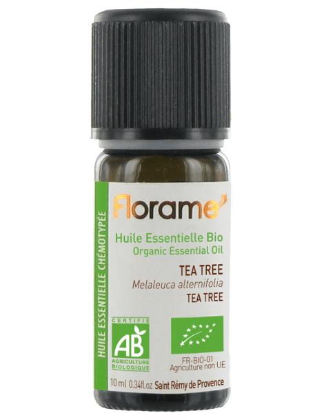 Huile essentielle bio Tea Tree 10 ml Florame arbre à thé antiseptique Herboristerie de paris