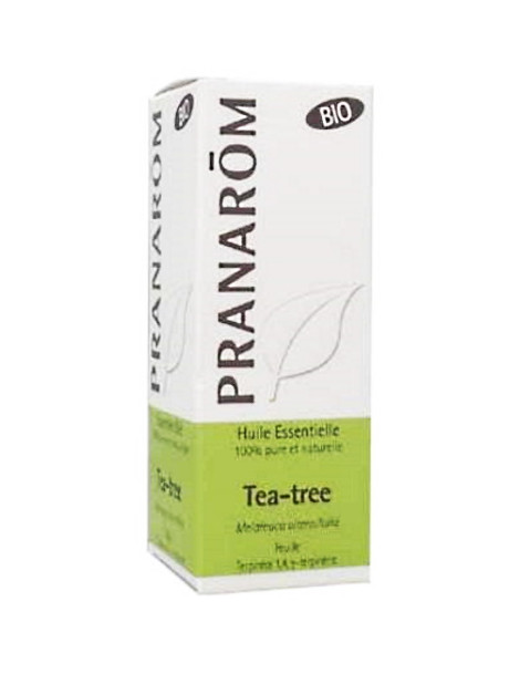 Tea-Tree feuille (arbre à thé) Bio 10 ml Pranarôm antiseptique tonique Herboristerie de paris