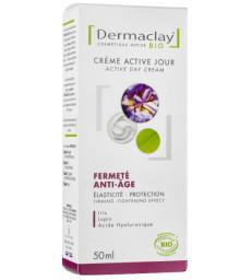 Crème active jour Fermeté Anti age 50 ml Dermaclay