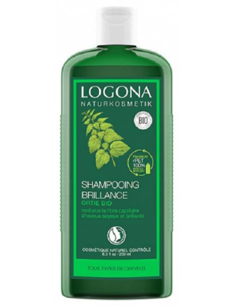 Shampooing brillance ortie 250 ml Logona force et silicium Herboristerie de paris