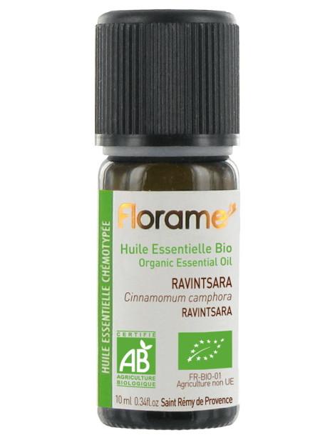 Huile essentielle bio Ravintsara 10ml Florame balsamique Herboristerie de paris