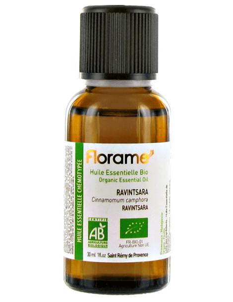 Huile essentielle bio Ravintsara 30 ml Florame immunité défenses naturelles Herboristerie de paris