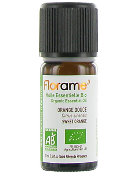 huile essentielle d'orange douce 10ml Florame  Herboristerie de paris