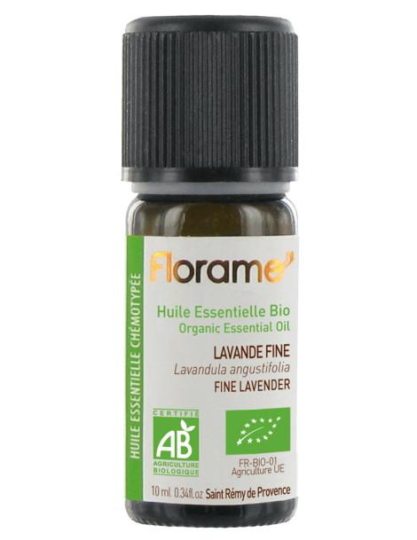 Huile essentielle bio Lavande Fine 10 ml Florame lavande vraie herboristerie de paris