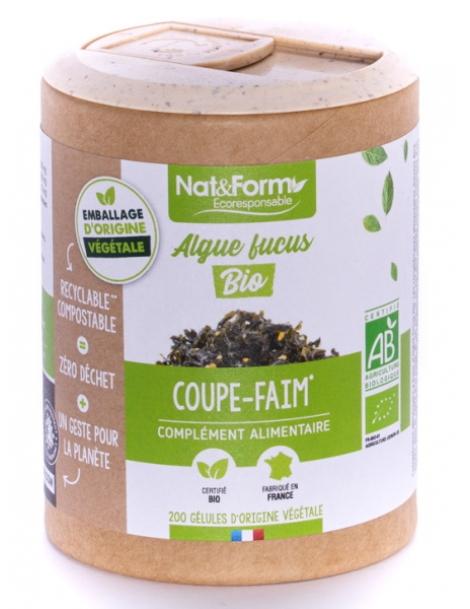 Algues Fucus Bio 200 gélules Nat et Form Herboristerie de Paris