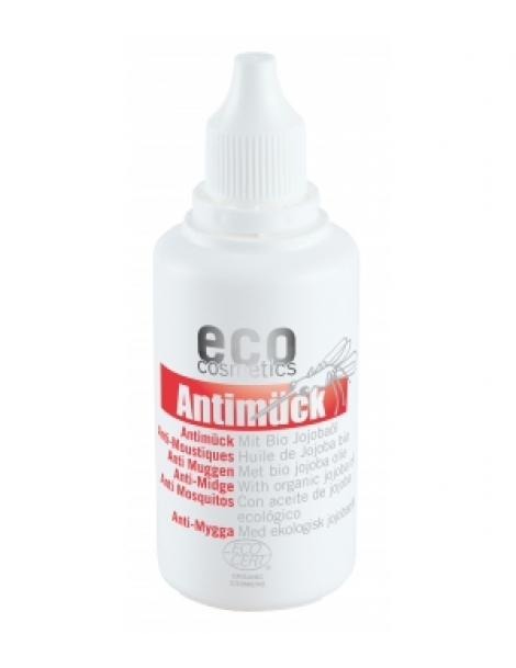 Anti moustiques Huile de Jojoba 50ml Eco Cosmetics Herboristerie de Paris