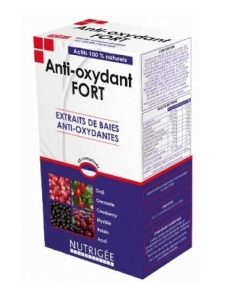 Anti oxydant Fort 60 comprimés Nutrigee Herboristerie de Paris