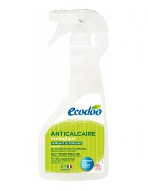 Anticalcaire Détartrant Nature Parfumé Citron et orange bio 500ml Ecodoo Herboristerie de Paris