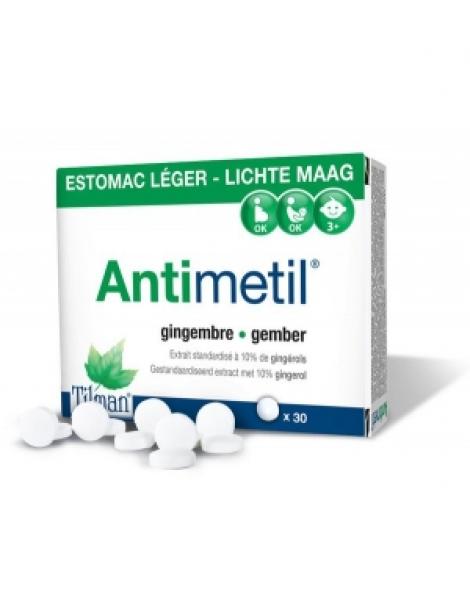 Antimetil 30 comprimés Tilman Herboristerie de Paris