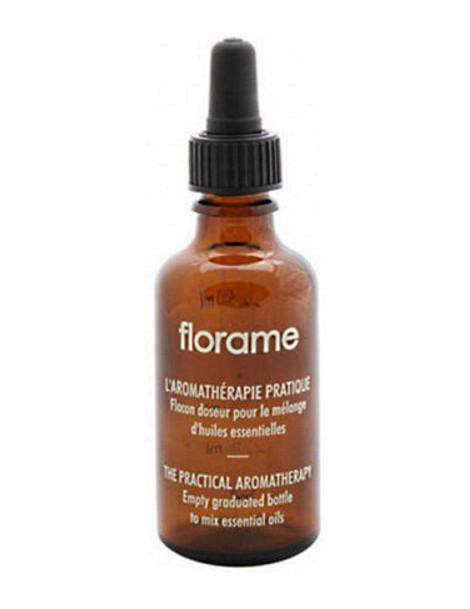 Flacon Doseur gradué avec pipette volume 50ml Florame pour les mélanges Herboristerie de paris