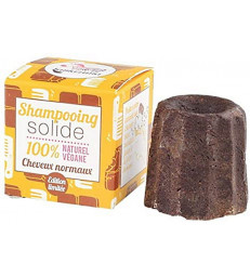Shampooing solide Cheveux normaux chocolat 55 gr Lamazuna