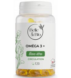Oméga 3 à 65% acides gras 120 capsules Belle et Bio