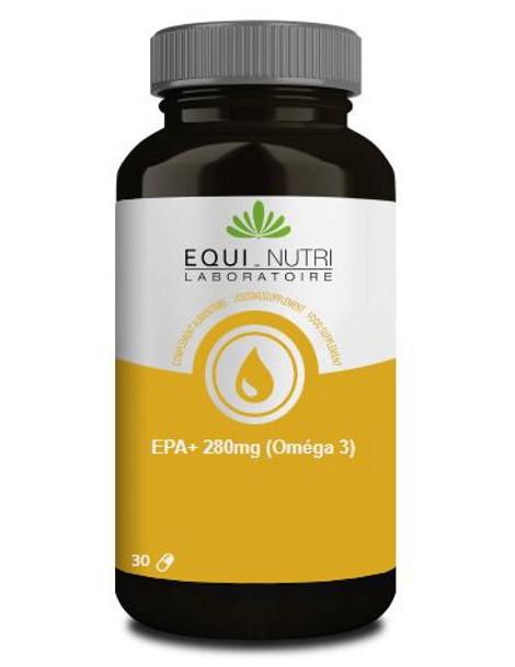 EPA Plus 280mg Omega 3  30 capsules Equi-Nutri oméga 2 cardio support Herboristerie de paris