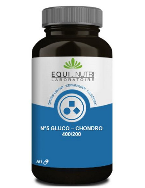 Gluco Chondro 60 gélules végétales Equi Nutri glucosamine chondroitine articulations Herboristerie de paris