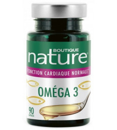 Omega 3 - 90 capsules Boutique Nature