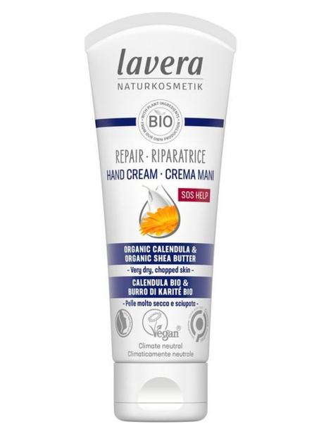 Baume SOS pour les mains 50 ml Lavera Naturkosmetik certifié Natrue Herboristerie de paris