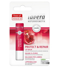 Baume à lèvres Grenade Huile d'Argan Repair 4,5 gr Lavera
