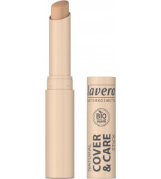 Correcteur stick Cover and care Miel Honey 03 1.7gr LAVERA