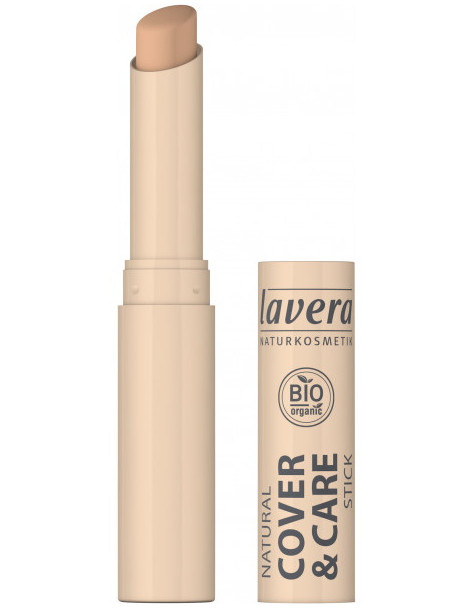 Correcteur stick Cover and care Miel Honey 03 1.7gr LAVERA maquillage bio Herboristerie de paris