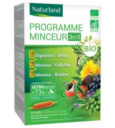 Programme Minceur Bio Lot de 3 boites ampoule Naturland