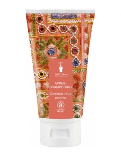 Après shampooing cheveux roux ou colorés 150ml Bioturm Herboristerie de Paris