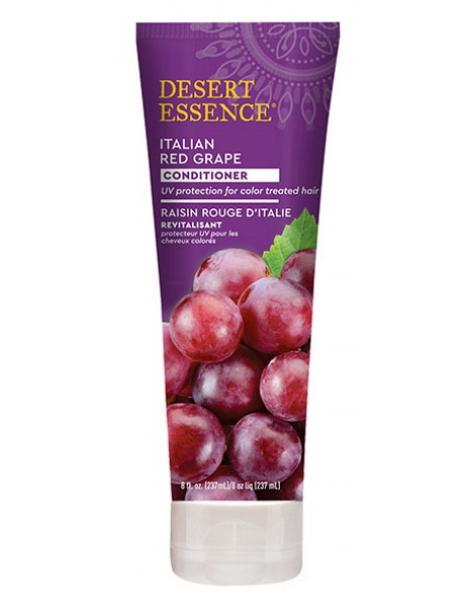 Après shampooing revitalisant au raisin rouge d'Italie 237ml Desert Essence Herboristerie de Paris