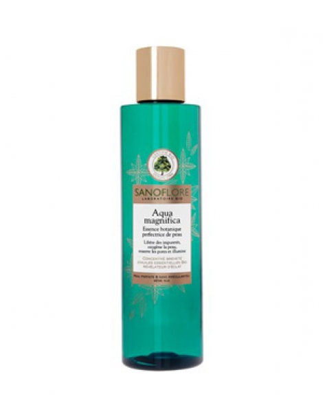 Aqua Magnifica essence botanique perfectrice de peau 200ml Sanoflore Herboristerie de Paris