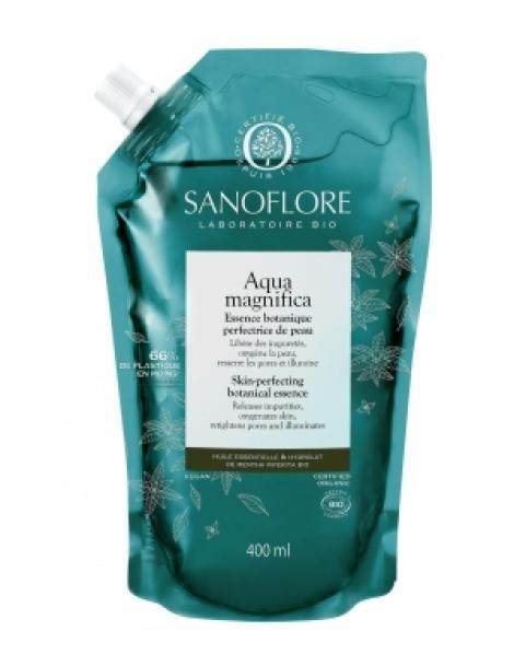 Aqua Magnifica essence botanique Recharge 400ml Sanoflore Herboristerie de Paris
