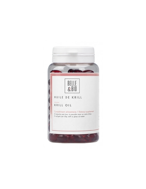 Krill 90 capsules Belle et Bio oméga 3 Herboristerie de paris