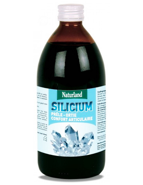 Silicium Prele Ortie 480 ml Naturland Silicium organique Herboristerie de paris