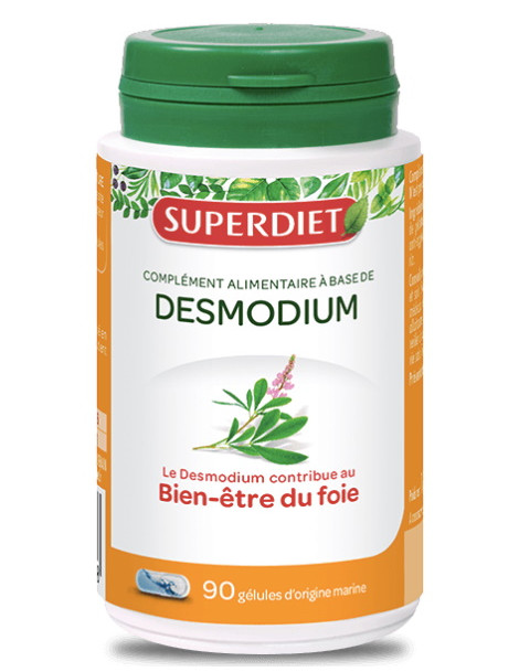 Desmodium 90 gélules  Super Diet detox du foie normal Herboristerie de paris