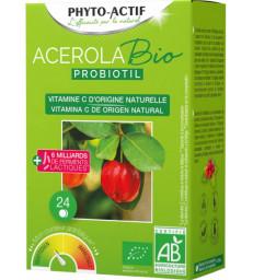 Acérola Probiotil  à partir de 6 ans 24 comprimés Phyto-Actif