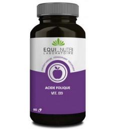 Vitamine B9 acide folique 90 gélules Equi - Nutri