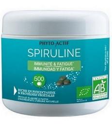 Spiruline bio Immunité Fatigue 500 comprimés Phyto-actif