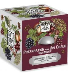 Tisane cube Préparation pour vin chaud bio 24 sachets 48g Provence D Antan
