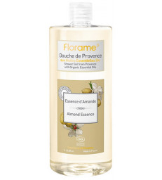Gel Douche de Provence Essence d'Amande 1 litre Florame