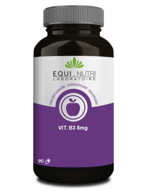 Vitamine B3 90 gélules végétales Equi - Nutri niacine anti fatigue Herboristerie de paris