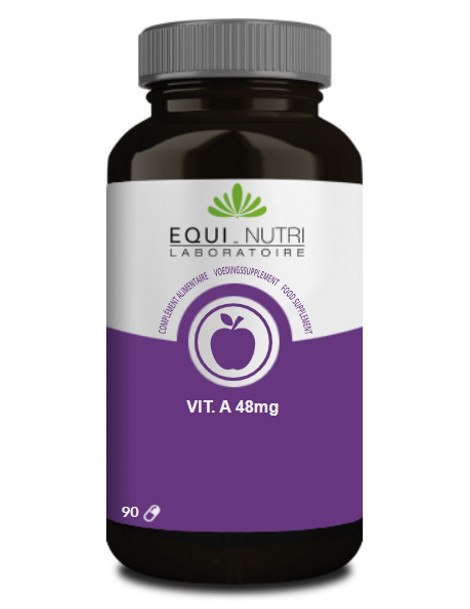 Vitamine A Beta Carotène naturel 90 gélules végétales Equi Nutri protection cellulaire Herboristerie de paris