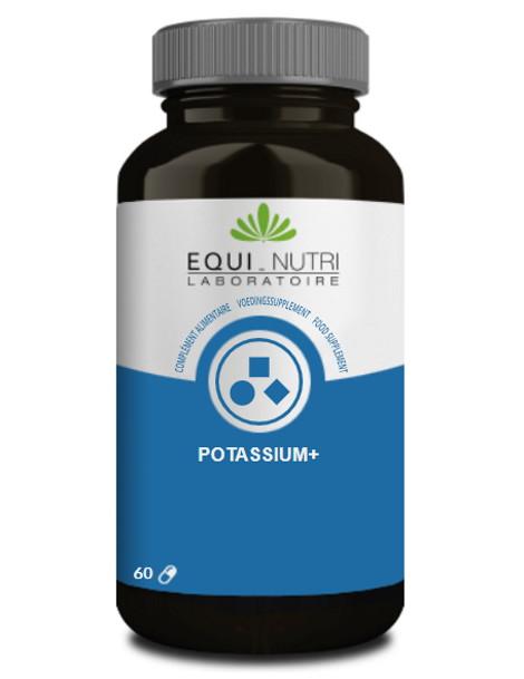 Potassium Plus 60 gelules Equi - Nutri pression sanguine équilibre acido basique Herboristerie de paris