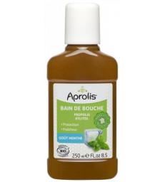 Bain de bouche Propolis et Xylitol goût Menthe 250 ml Aprolis
