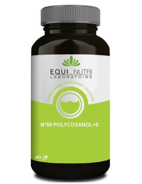 Polycosanol vitamine E 60 gelules Equi - Nutri lipides circulants antioxydants Herboristerie de paris