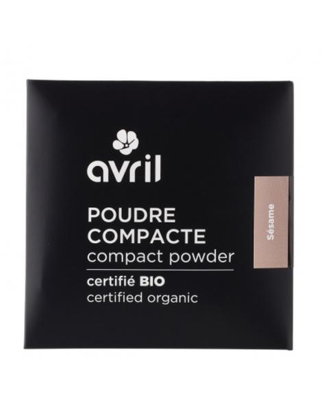 Poudre compacte Nude (Naturel) 7g Avril maquillage bio Herboristerie de paris