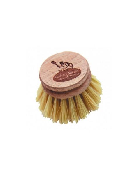 Recharge Brosse vaisselle Hêtre et fibre d'Agave 100g Droguerie écologique