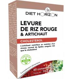 Levure de Riz Rouge coenzyme Q10 60 comprimés Diet Horizon
