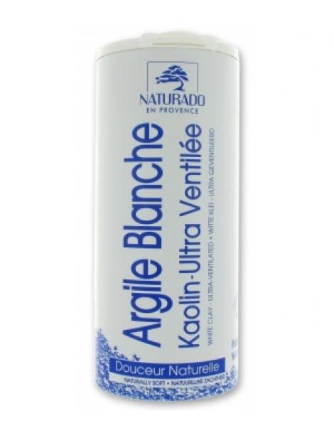 Argile blanche Kaolin pot 300gr Naturado Herboristerie de Paris