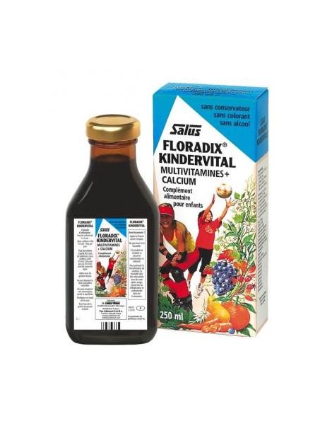 SALUS Floradix Kindervital 250 ml - fortifiant et vitalisant pour les enfants