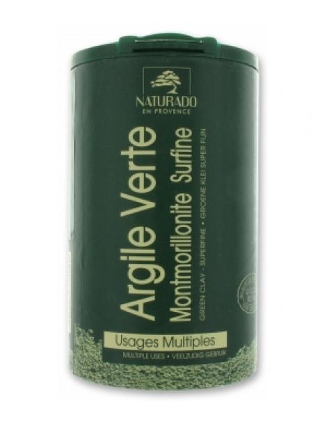 Argile verte Montmorillonite NATURADO pot 300gr Comptoir Provencal des Argiles Herboristerie de Paris