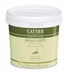 Argile verte Montmorillonite Prête à l'Emploi pot 1350mg Cattier