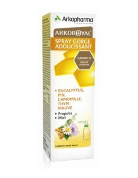 Arko Royal Spray Propolis Gorge 30ml Arkopharma Herboristerie de Paris