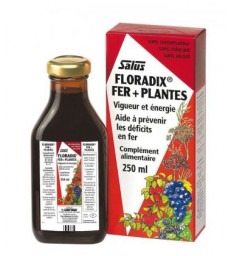 Floradix Fer + Plantes 250 ml SALUS